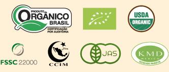 selos orgânicos